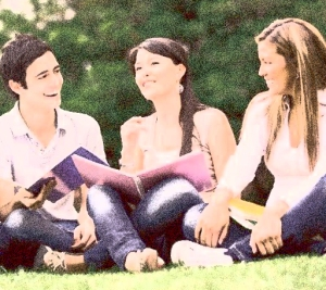 collage students